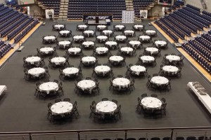 Athletic Banquet Setup